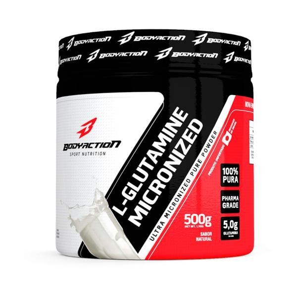 L-Glutamine (500g) - BodyAction
