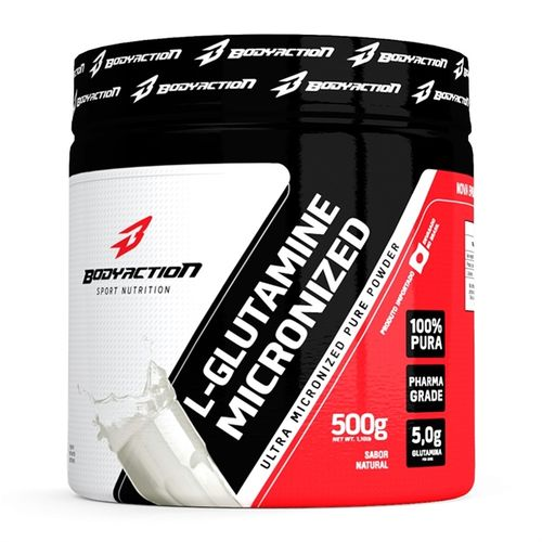 L-glutamine 500g - Bodyaction