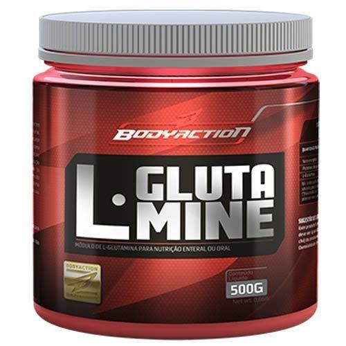 L - Glutamine - 500g - BodyAction