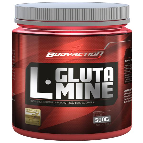 L-Glutamine 500gr - Body Action