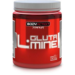 L-Glutamine - Body Action - Sem Sabor - 300 G