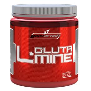 L-Glutamine - Body Action - Sem Sabor - 500 G