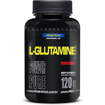 L-Glutamine Powder Pure Sem Sabor - Probiotica L-Glutamine Powder Pure Sem Sabor 120g - Probiotica