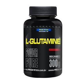L-Glutamine - Probiótica 300g Sabor Sem Sabor