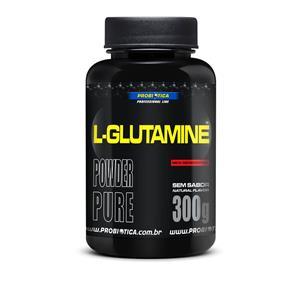 L-Glutamine Probiótica - 300g - Sem Sabor