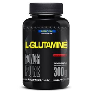 L- Glutamine - Probiótica - Sem Sabor - 300 G
