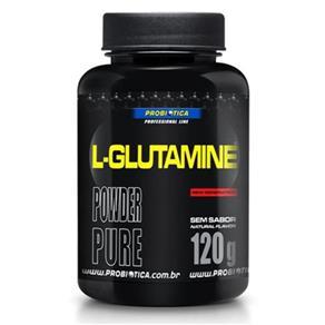 L- Glutamine - Probiótica - Sem Sabor - 120 G