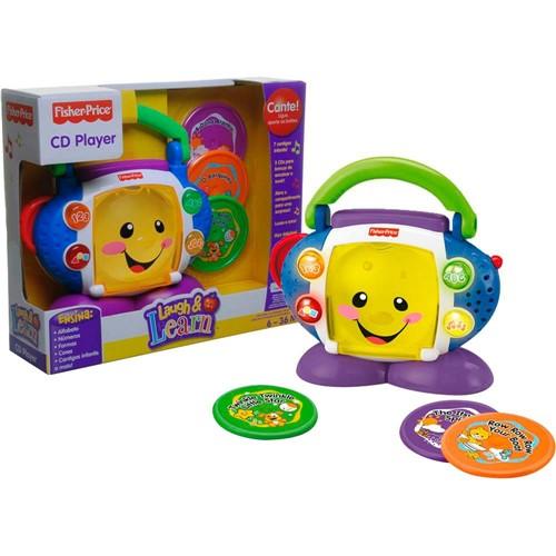 Tudo sobre 'L&l - Cd Player Aprender e Brincar Mattel'