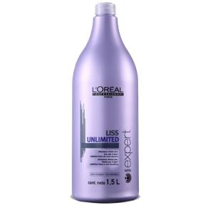 L`oréal Liss Unlimited Shampoo 1500Ml