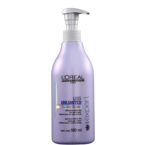 L``oréal Liss Unlimited Shampoo 500Ml