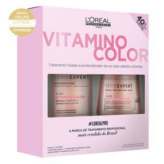 L'Oréal Professionnel Vitamino Color Kit - Shampoo + Máscara Kit