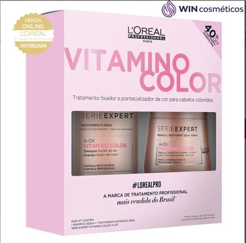 L'Oréal Professionnel Vitamino Color Kit - Shampoo + Máscara