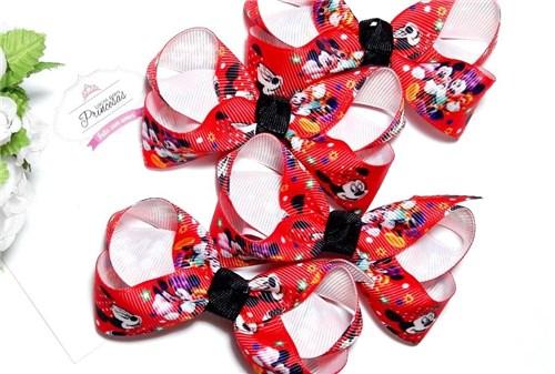 Tudo sobre 'Laço Ana M - Minnie e Mickey Vermelho'
