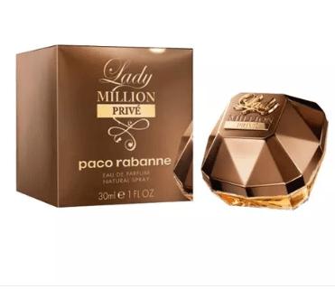 Lady Million Privé Eau de Parfum de Paco Rabanne Feminino (80ml)