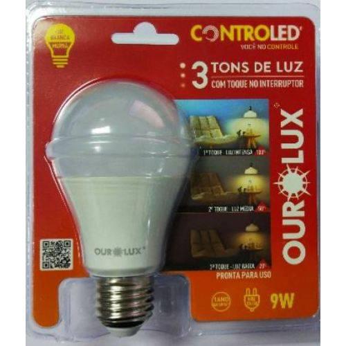 Tudo sobre 'Lâmpada Controled 3 Tons de Luz 9W 2700K Luz Branco Morna'