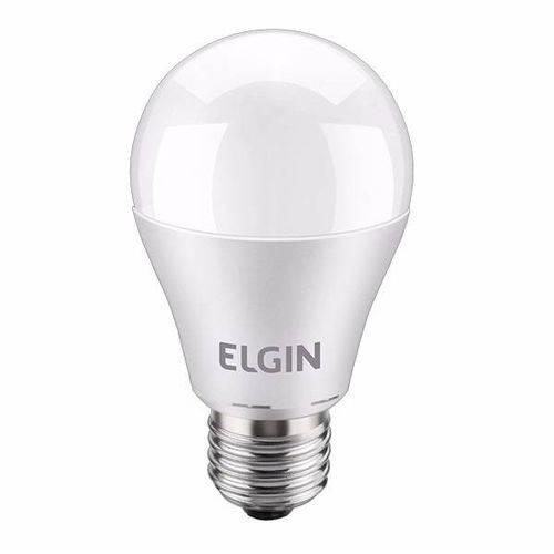 Tudo sobre 'Lâmpada Led 9w Bulbo E27 Bivolt Elgin Branca 810lm Inmetro'