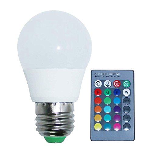 Lâmpada LED Bulbo Bolinha A50 RGB 3w