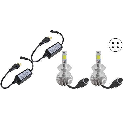 Lâmpada LED H7 2D 6000K 12V 32W