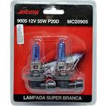 Lampada Super Branca 9005 12v 55w P20d - Par