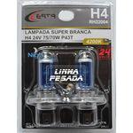 Lampada Super Branca H4 24v 75/70w 42000k Par