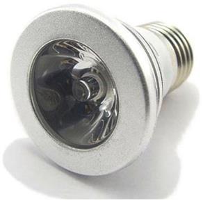 Lâmpada Super Led 3W Rgb E-27 110 ou Controle Remoto - Bivolt