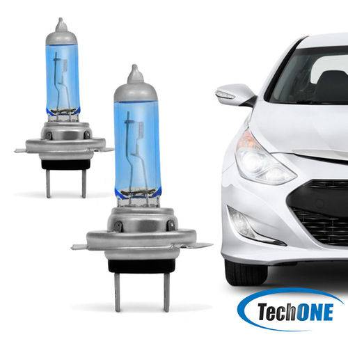 Lâmpada Techone H7 12v 55w Super Branca Par