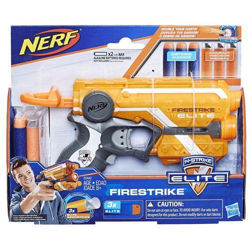 Lança Dardo Nerf Ccu Firestrike Hasbro E0442