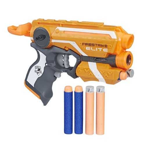Lança Dardo Nerf Ccu Firestrike Hasbro - E0442