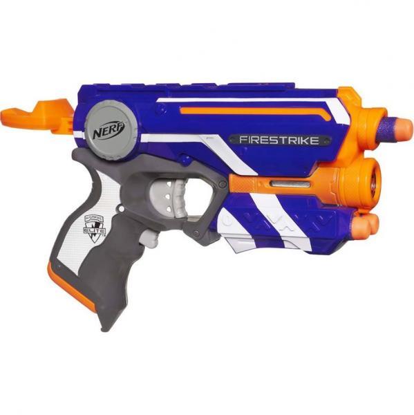 Lança Dardo Nerf El Firestrike A0709-Hasbro