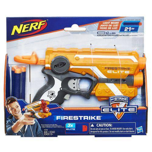 Lança Dardo Nerf Elite Firestrike Hasbro - A0709