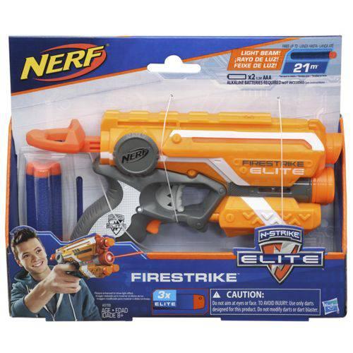 Lança Dardo Nerf Elite Firestrike Hasbro