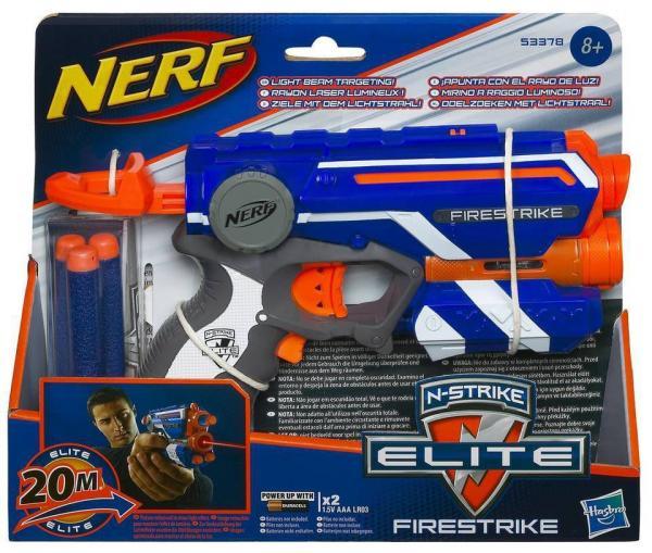 Lança Dardo Nerf Firestrike - Hasbro