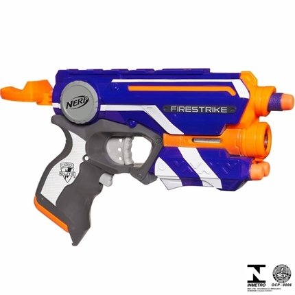 Lançador de Dardos Nerf N-Strike Elite Firestrike A0709 Hasbro
