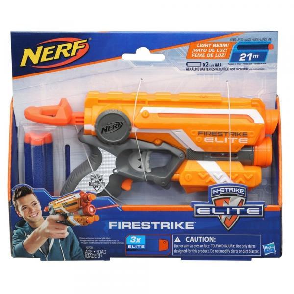 Lançador de Dardos Nerf N-strike Elite Firestrike - Hasbro A0709