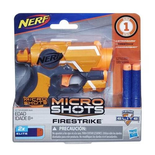 Lançador Nerf Microshots Firestrike E0721 - Hasbro