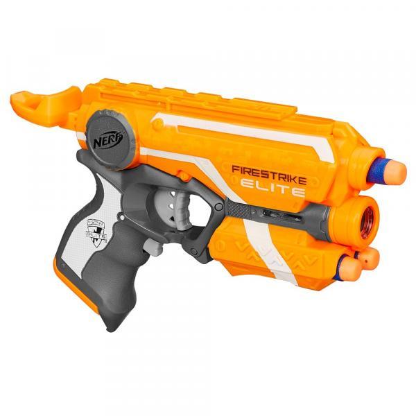Lançador Nerf N-Strike Elite Firestrike com Laser Hasbro A0709