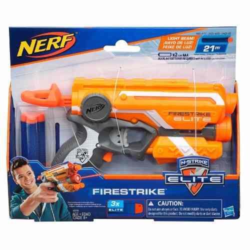 Lançador Nerf N-strike Elite Firestrike Hasbro A0709