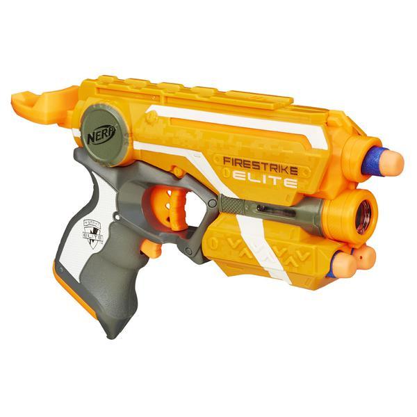 Lançador NERF N-Strike Elite Firestrike - Hasbro