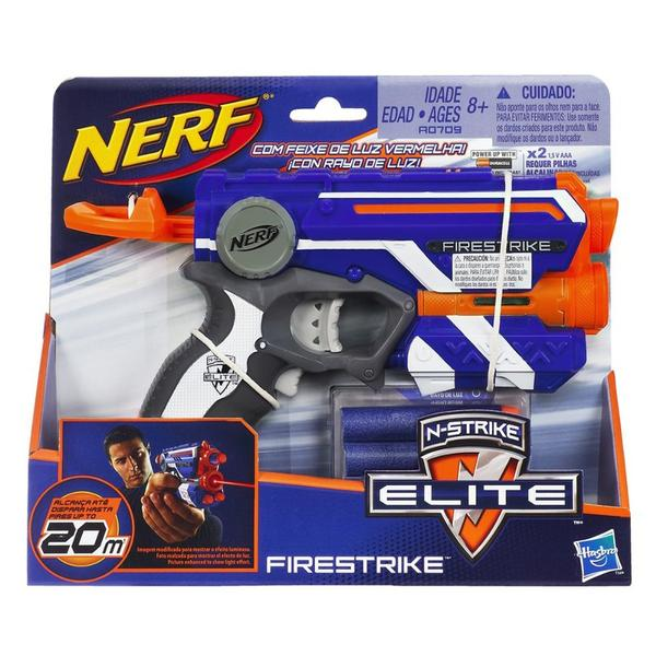 Lançador Nerf N-Strike Elite - Firestryke - Hasbro