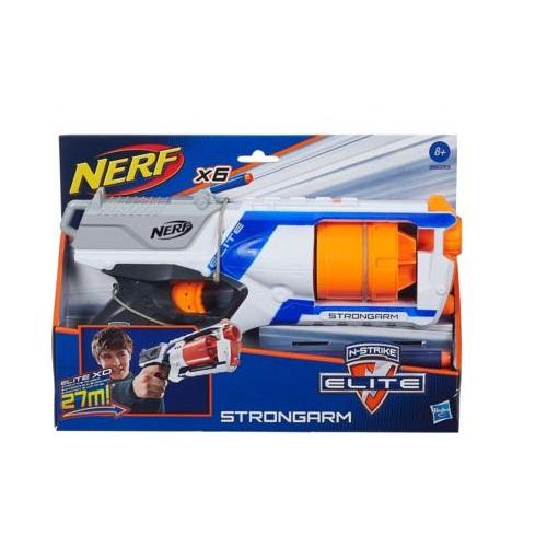 Lançador Nerf N-strike Elite Strongarm Hasbro A0710 8454