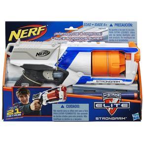 Lançador Nerf S Strike Elite Strongarm - A0710 - Hasbro