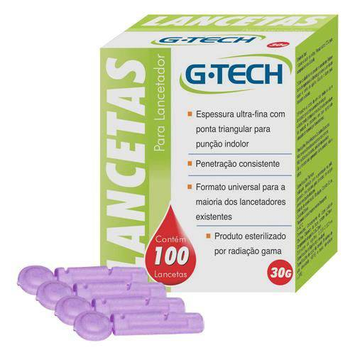 Tudo sobre 'Lancetas - G-TECH'