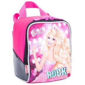 Lancheira Barbie Rock Royal Rosa Sestini