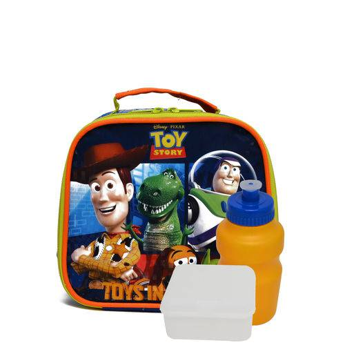 Lancheira Dermiwil Soft Toy Story Azul/Verde