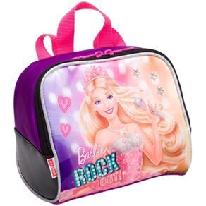 Lancheira Grande Barbie Rock In Royals Roxo - Sestini