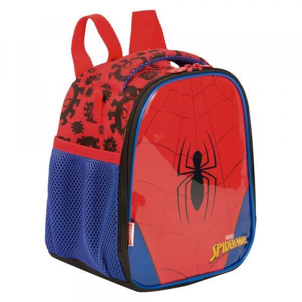 Lancheira Grande 2 em 1 Spiderman 19y - Sestini