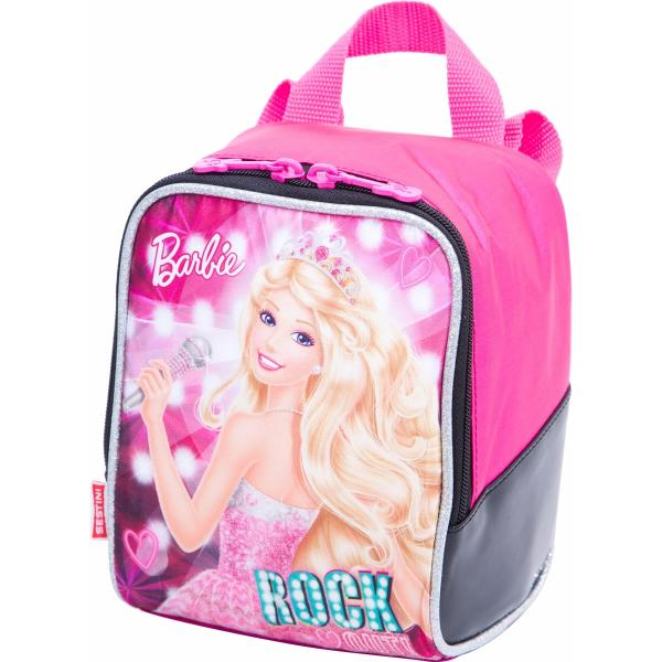 Lancheira Infantil Barbie Rock N Royals-Rosa - Sestini