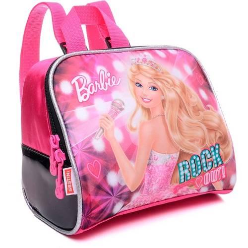 Lancheira Infantil Sestini G Rock N Royals Rosa Barbie
