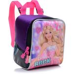 Lancheira Infantil Sestini Rock N Royals Roxa Barbie
