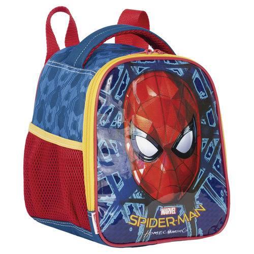 Lancheira Térmica Homem Aranha SpiderMan Azul Original